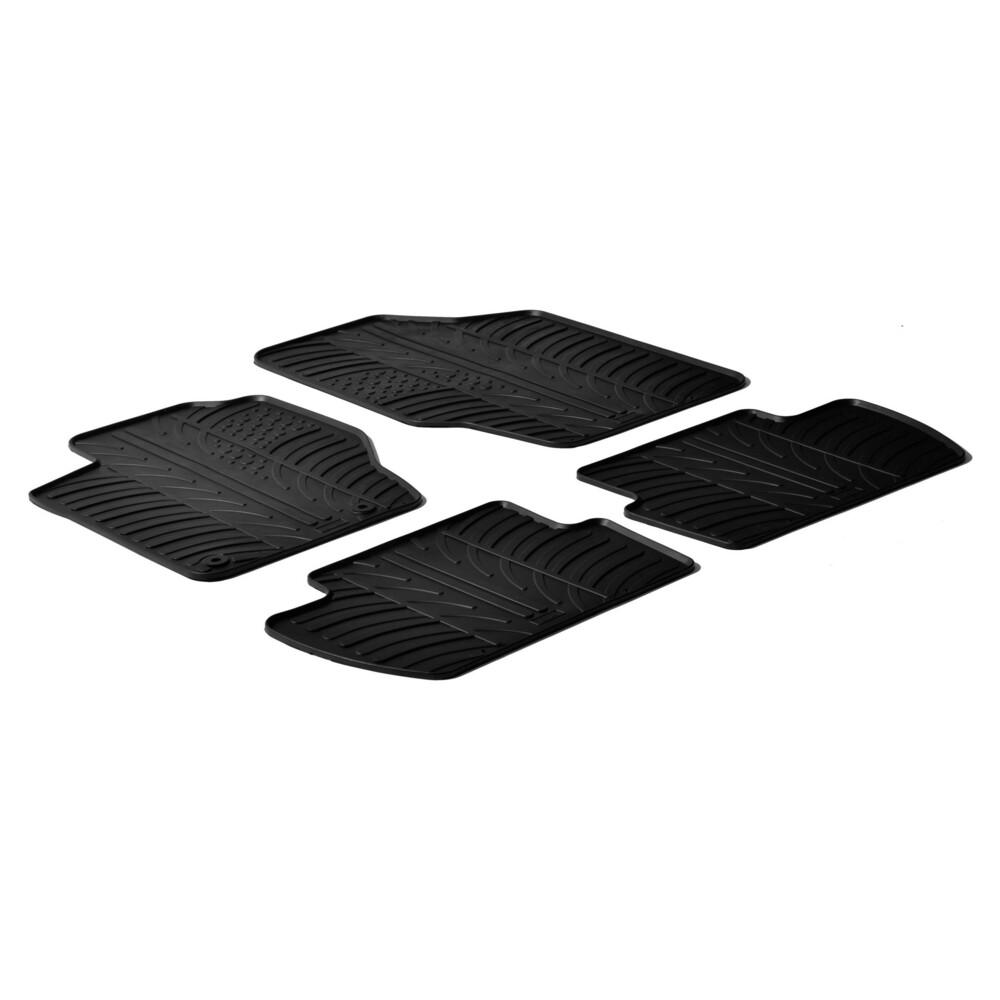 Set tappeti su misura in gomma -  Citroen C4 3p (01/05>10/10) -  Citroen C4 5p (01/05>10/10)