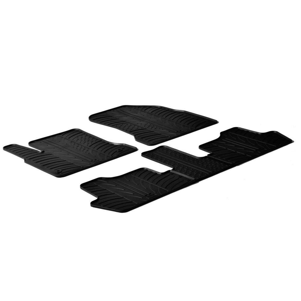 Set tappeti su misura in gomma -  Citroen C4 Picasso (03/07>05/13)