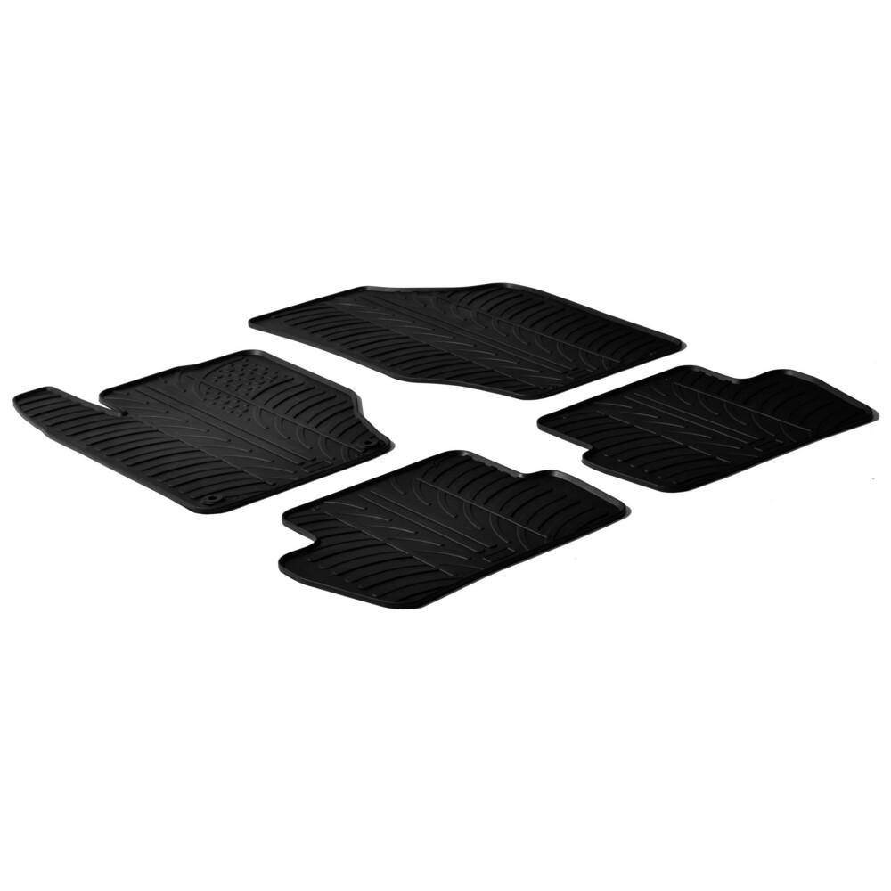 Set tappeti su misura in gomma -  Citroen C4 5p (11/10>)