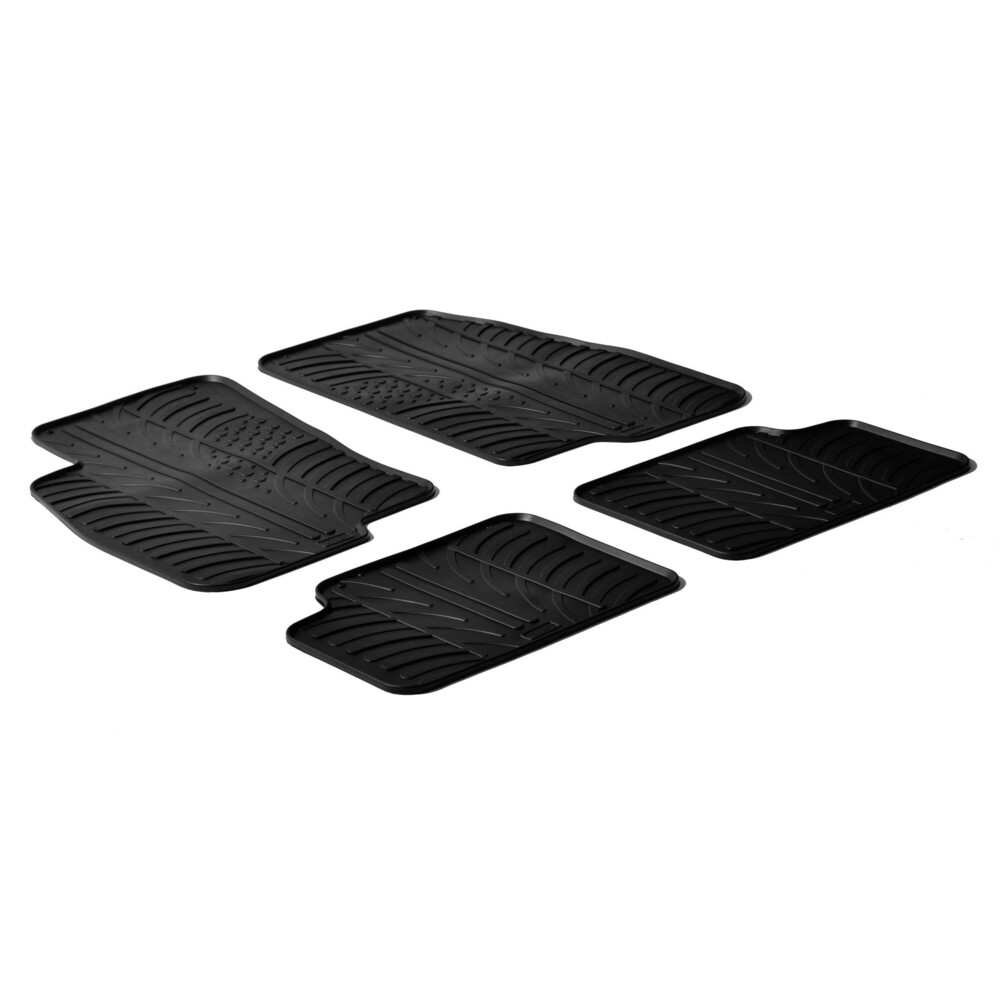 Set tappeti su misura in gomma -  Fiat Grande Punto 3p (09/05>04/12) -  Fiat Grande Punto 5p (09/05>04/12)