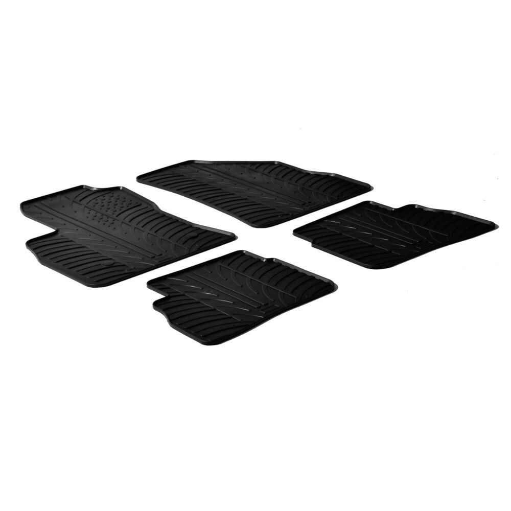 Set tappeti su misura in gomma -  Fiat Doblò 5p (01/10>) -  Opel Combo Tour 5p (04/12>)