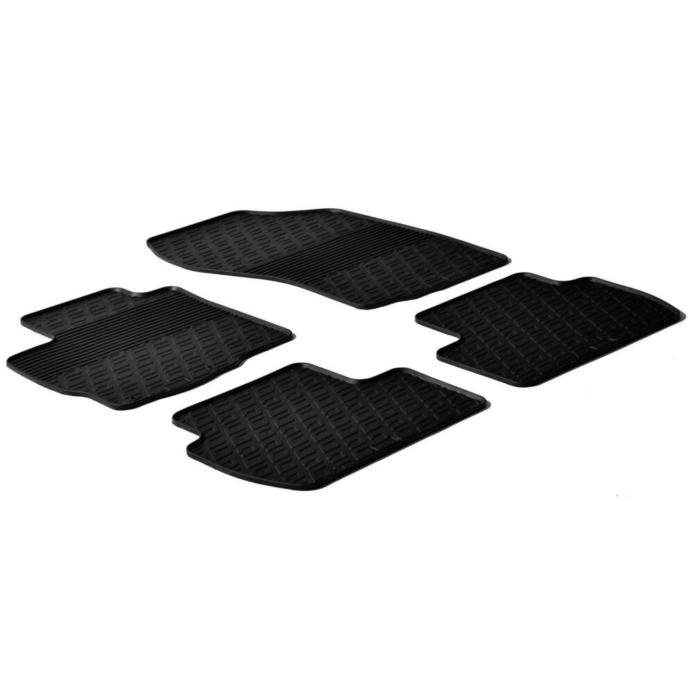 Set tappeti su misura in gomma -  Citroen C-Crosser (06/07>01/13) -  Mitsubishi Outlander (02/07>02/10) -  Peugeot 4007 (07/08>1
