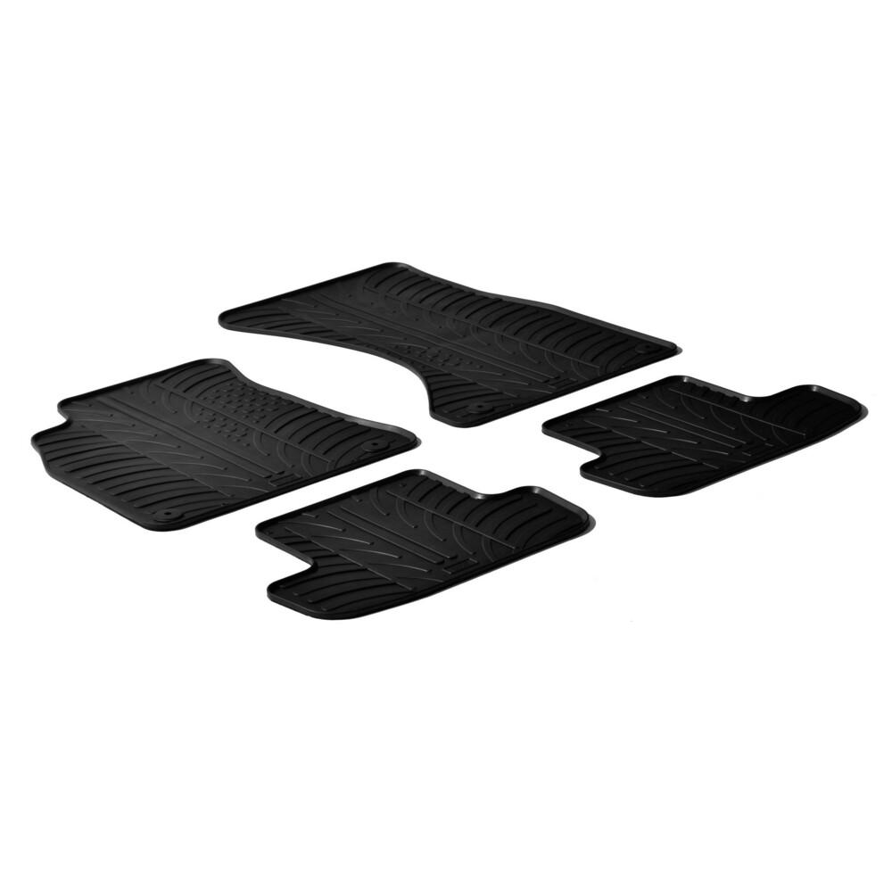 Set tappeti su misura in gomma -  Audi A4 4p (11/07>10/15) -  Audi A4 Allroad (04/09>05/16) -  Audi A4 Avant (05/08>10/15) -  Au