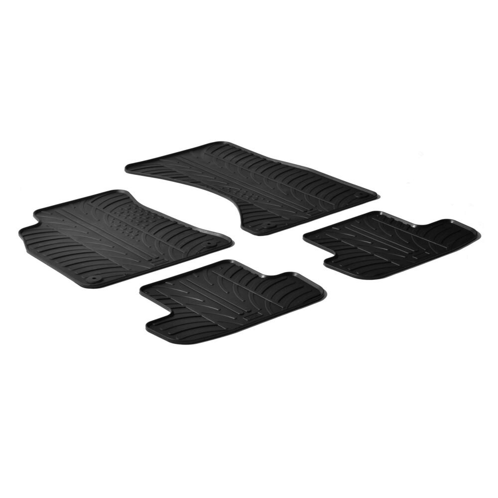 Set tappeti su misura in gomma -  Audi A5 Cabrio (03/09>02/17) -  Audi A5 Coupè 2p (06/07>08/16)