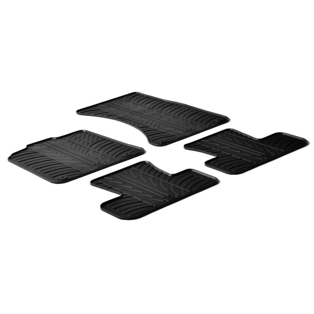 Set tappeti su misura in gomma -  Audi Q5 (11/08>02/17)