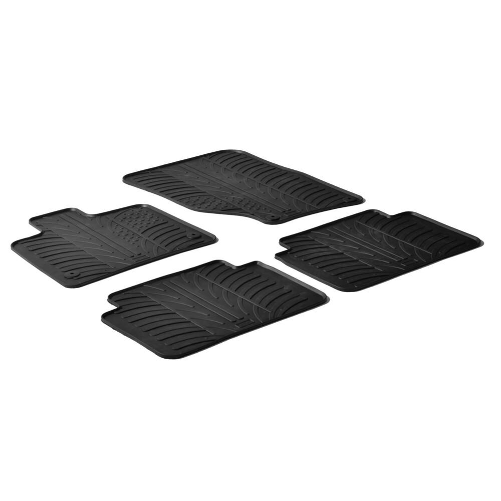 Set tappeti su misura in gomma -  Audi Q7 (03/06>05/15)