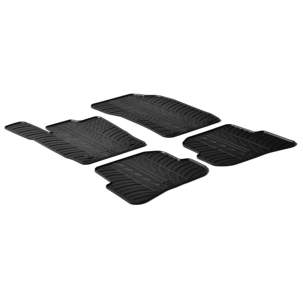 Set tappeti su misura in gomma -  Audi A1 3p (09/10>) -  Audi A1 Sportback 5p (02/12>)