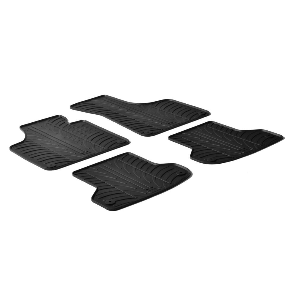 Set tappeti su misura in gomma -  Audi A3 3p (05/03>06/08) -  Audi A3 3p (07/08>08/12) -  Audi A3 Cabriolet (04/08>02/14) -  Aud