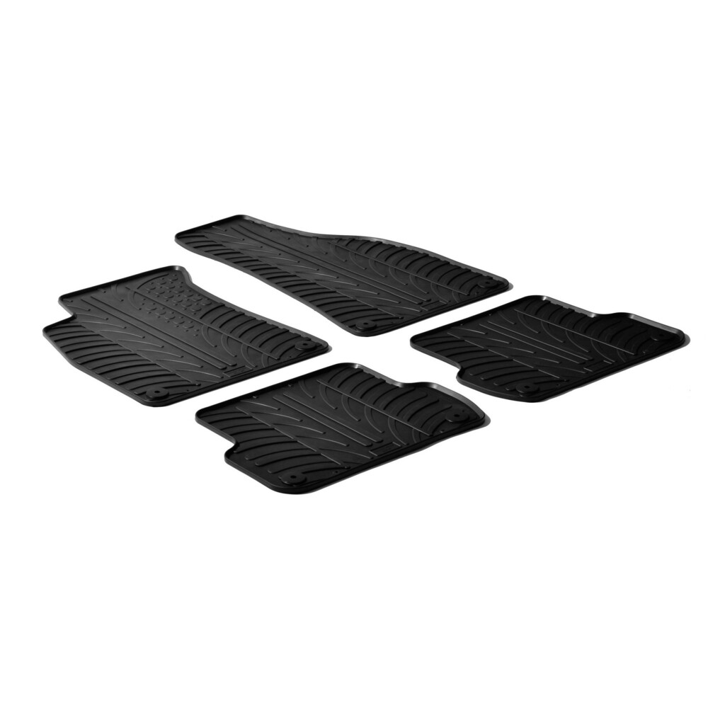 Set tappeti su misura in gomma -  Audi A4 4p (01/01>10/07) -  Audi A4 Avant (09/01>04/08) -  Audi A4 Cabrio (05/02>03/08) -  Sea