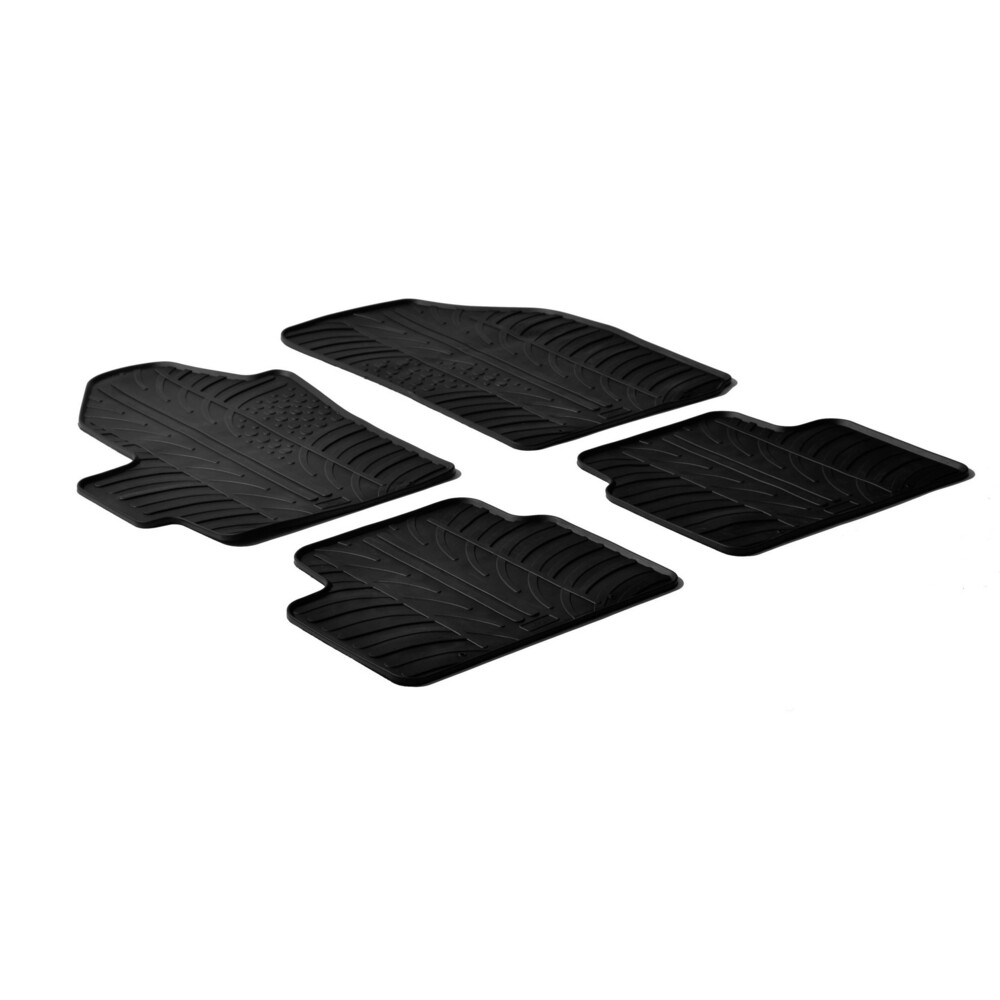 Set tappeti su misura in gomma -  Chevrolet Matiz (05/05>01/10)