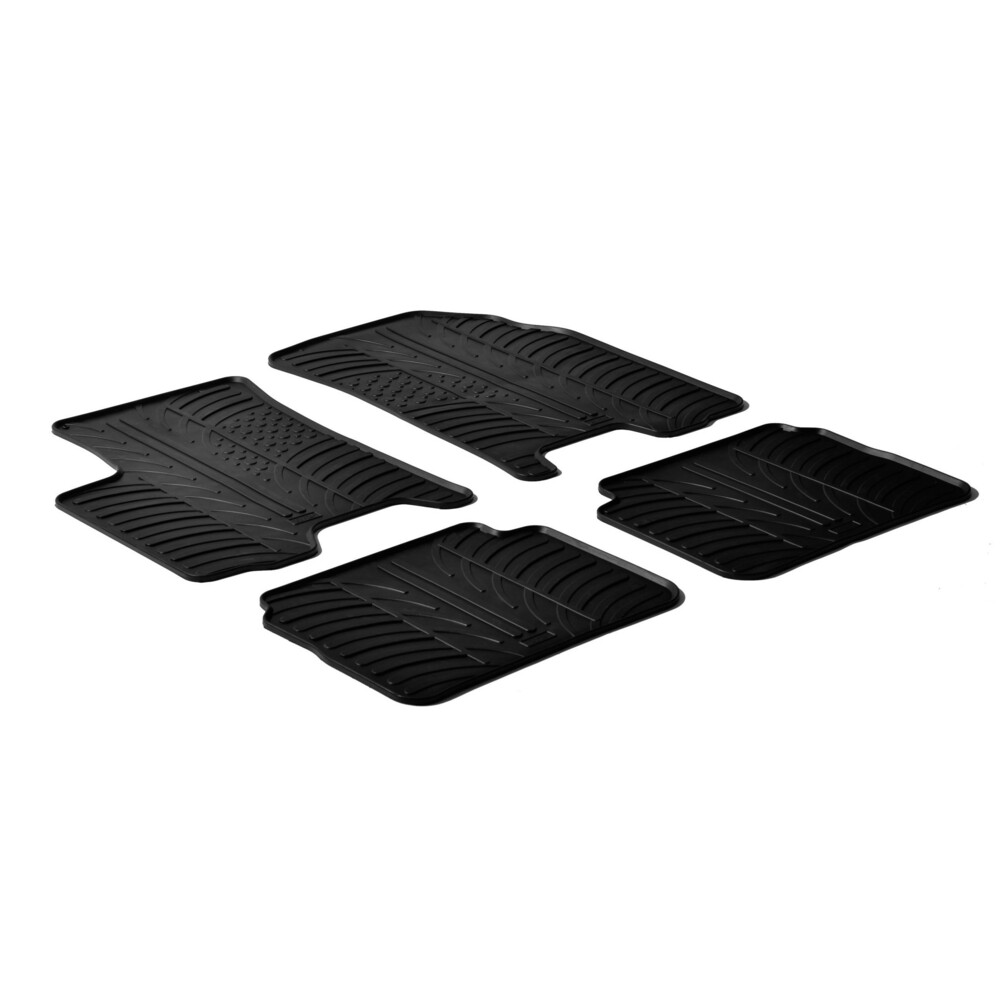 Set tappeti su misura in gomma -  Chevrolet Aveo 3p (02/05>05/08) -  Chevrolet Aveo 5p (09/02>05/08) -  Daewoo Kalos 3p (02/05>0
