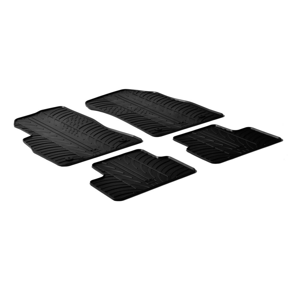 Set tappeti su misura in gomma -  Chevrolet Cruze 4p (03/09>09/15) -  Chevrolet Cruze 5p (09/11>11/15) -  Chevrolet Cruze sw (09