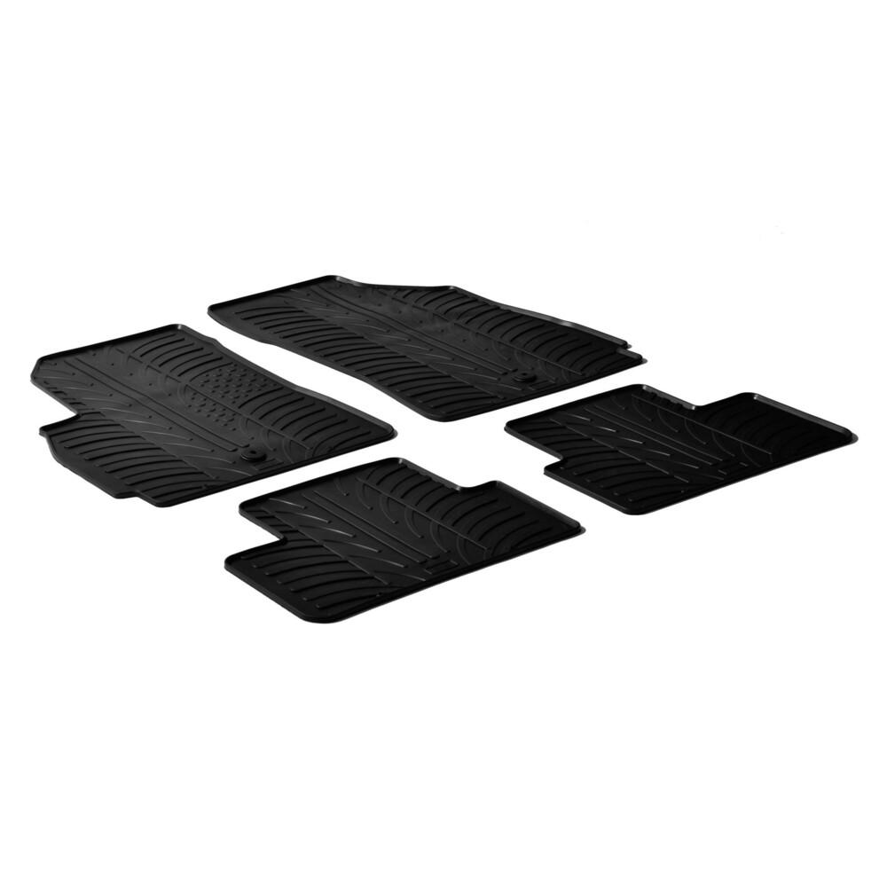 Set tappeti su misura in gomma -  Chevrolet Orlando (01/11>09/15)