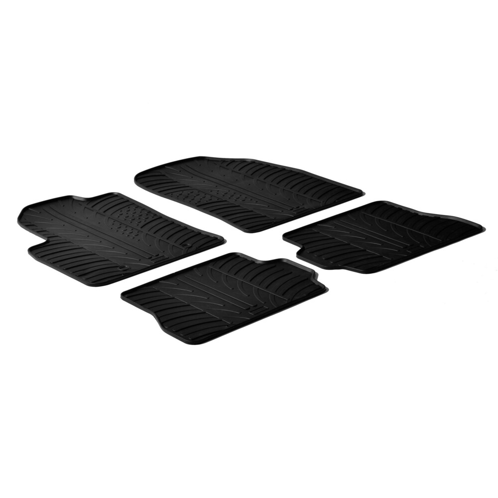 Set tappeti su misura in gomma -  Ford Fiesta 3p (11/02>08/08) -  Ford Fiesta 5p (05/02>08/08) -  Ford Fusion (08/02>11/12)
