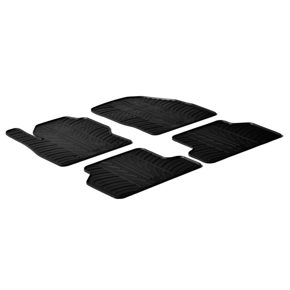 Set tappeti su misura in gomma -  Ford Focus 3p (02/05>02/11) -  Ford Focus 5p (02/05>02/11) -  Ford Focus Wagon (02/05>05/11)