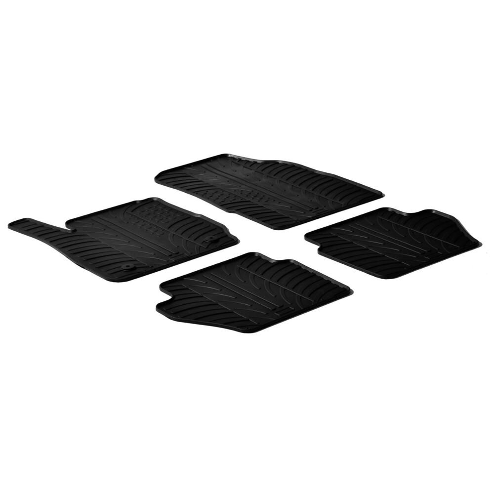 Set tappeti su misura in gomma -  Ford Fiesta 3p (03/11>05/17) -  Ford Fiesta 5p (03/11>05/17)