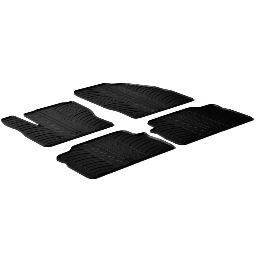 Set tappeti su misura in gomma -  Ford C-Max (10/03>10/10) -  Ford Kuga (06/08>08/11)