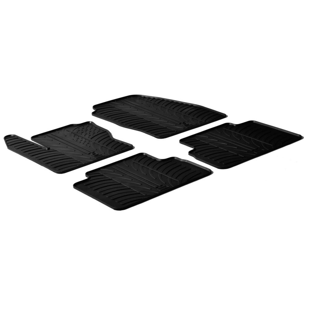 Set tappeti su misura in gomma -  Ford C-Max (11/10>03/15) -  Ford C-Max 7 (11/10>03/15)
