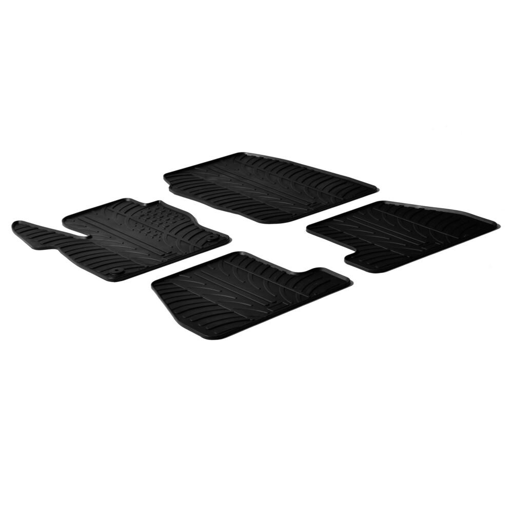 Set tappeti su misura in gomma -  Ford Focus 5p (03/11>10/14) -  Ford Focus Wagon (06/11>10/14)