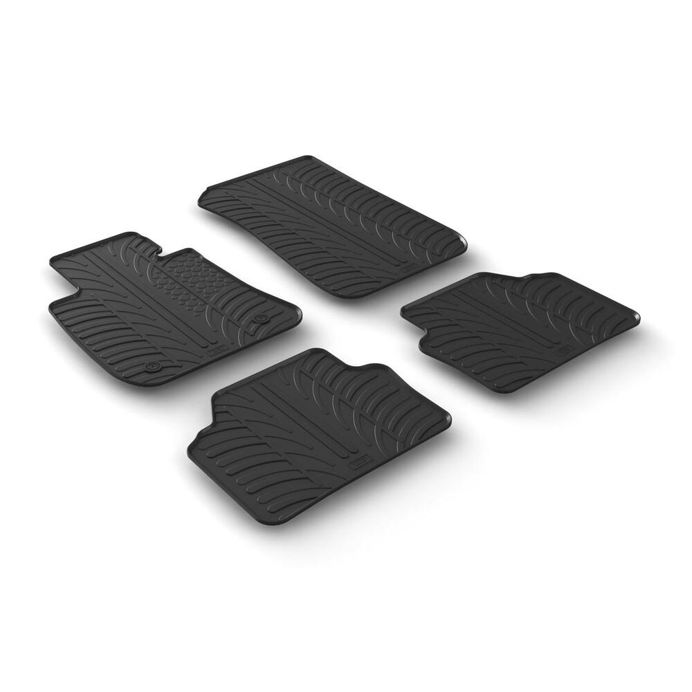 Set tappeti su misura in gomma -  Bmw Serie 3 (E90) 4p (03/05>01/12) -  Bmw Serie 3 Touring (E91) (09/05>05/12)