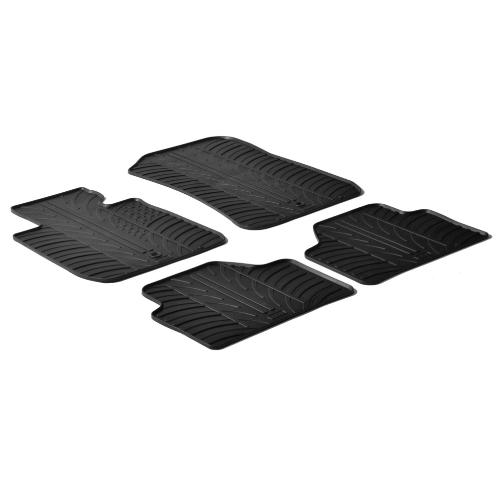 Set tappeti su misura in gomma -  Bmw X1 (E84) (10/09>10/15)