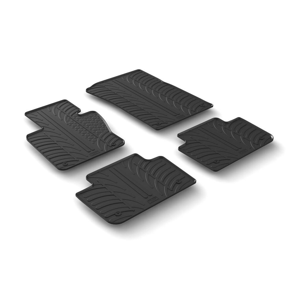 Set tappeti su misura in gomma -  Bmw X3 (E83) (01/04>10/10)