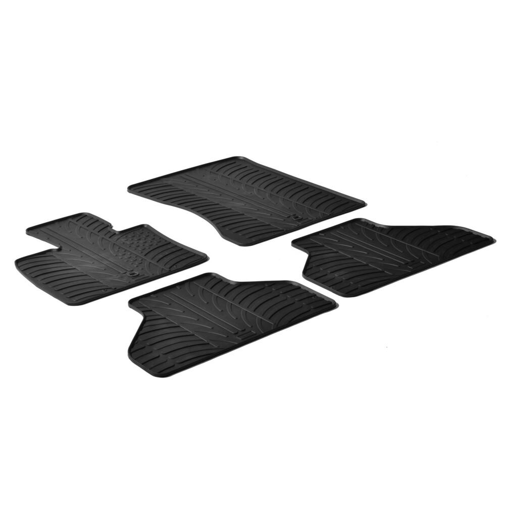 Set tappeti su misura in gomma -  Bmw X5 (E70) (03/07>09/13)