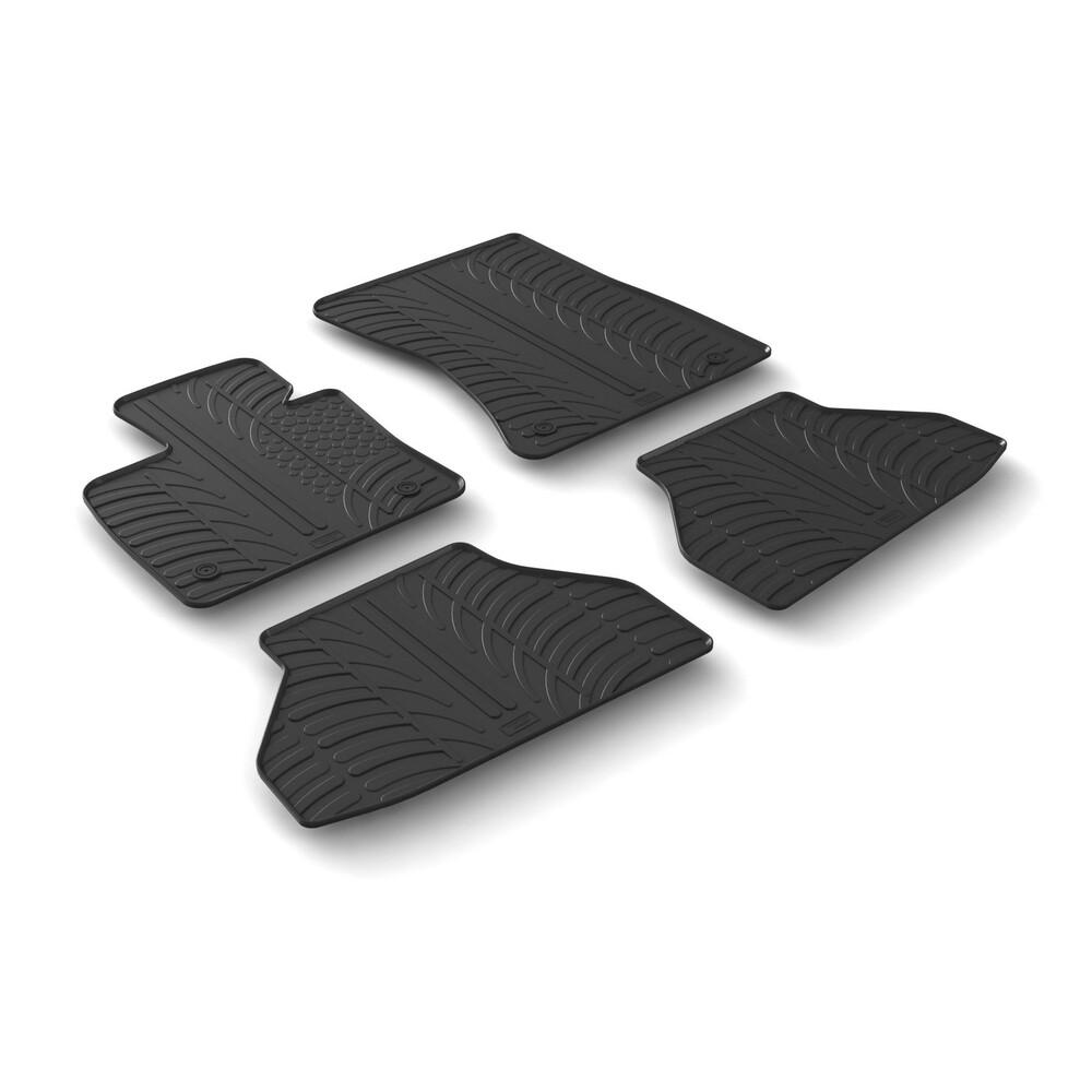 Set tappeti su misura in gomma -  Bmw X6 (E71) (06/08>11/14)