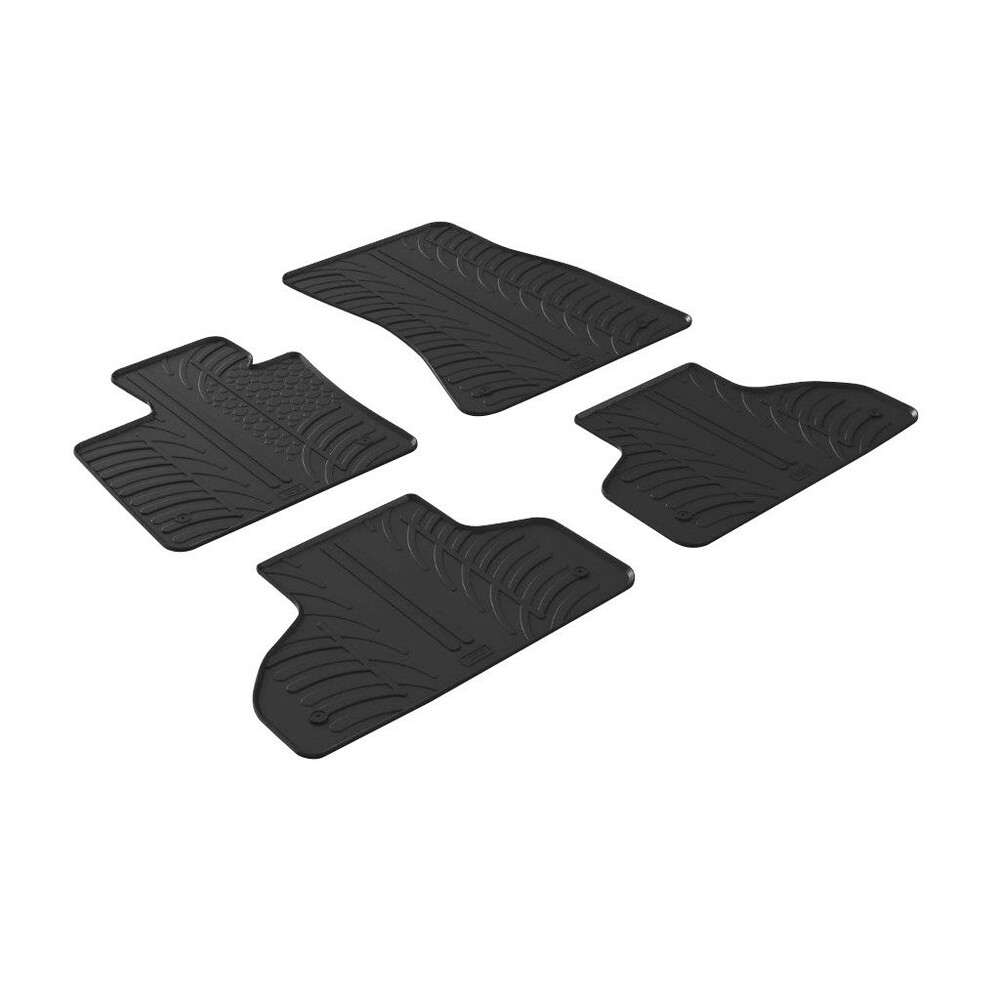 Set tappeti su misura in gomma -  Bmw X5 (F15) (10/13>)