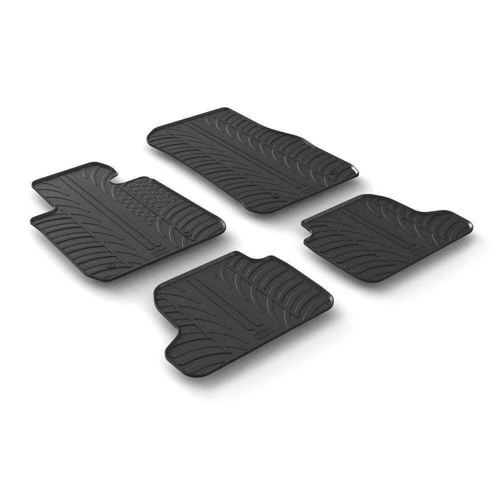 Set tappeti su misura in gomma -  Bmw Serie 2 Cabrio (F22) (02/15>) -  Bmw Serie 2 Coupè (F22) 2p (03/14>)