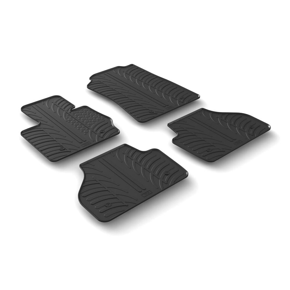 Set tappeti su misura in gomma -  Bmw X4 (F26) (06/14>)