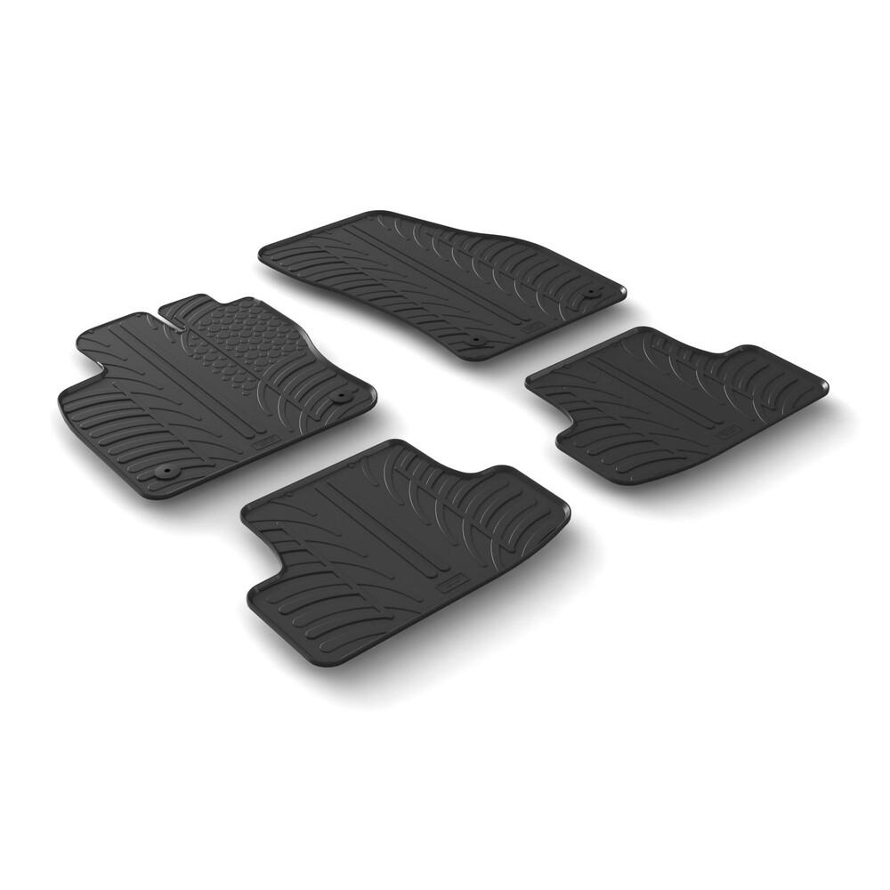 Set tappeti su misura in gomma -  Audi Q2 (11/16>)