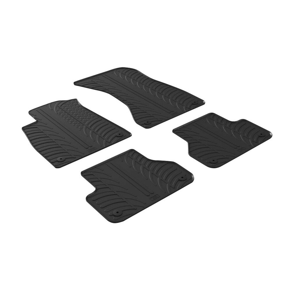 Set tappeti su misura in gomma -  Audi A5 Sportback 5p (09/16>)