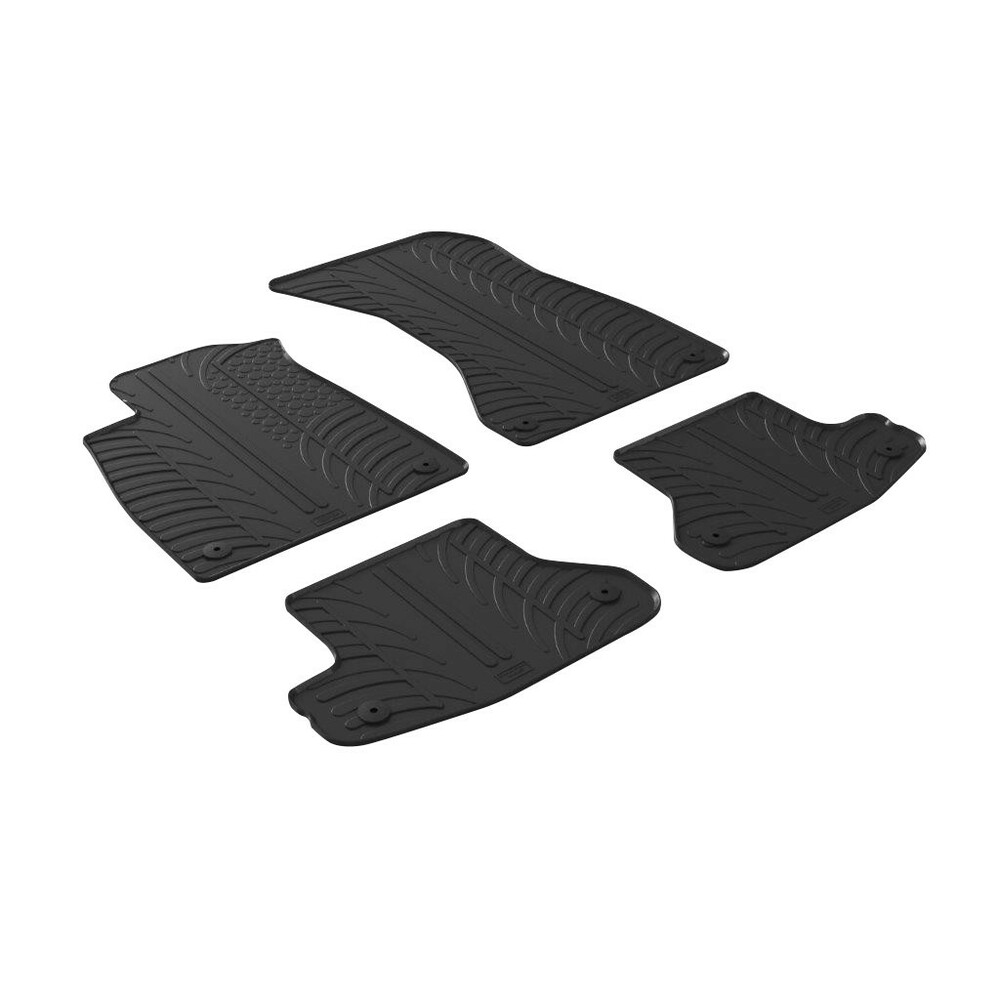 Set tappeti su misura in gomma -  Audi A5 Cabrio (03/17>) -  Audi A5 Coupè 2p (09/16>)