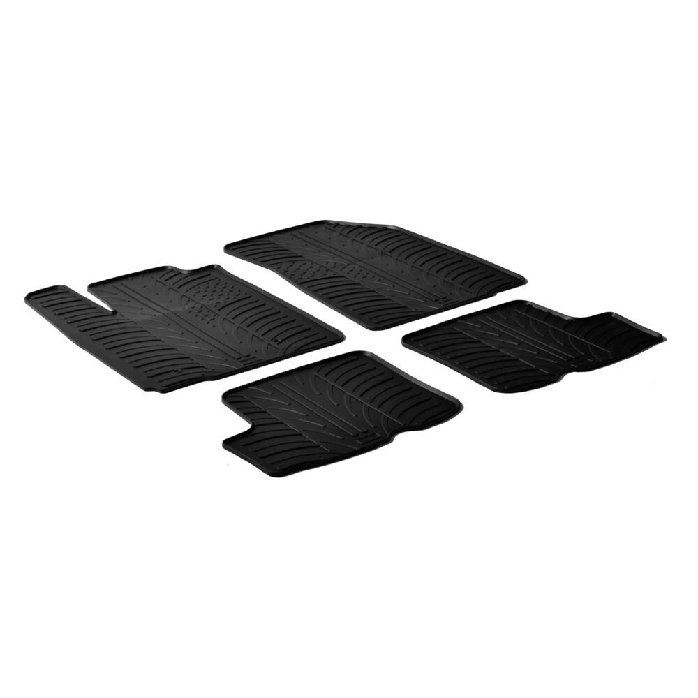 Set tappeti su misura in gomma -  Dacia Sandero (09/08>12/12) -  Dacia Sandero Stepway (07/09>12/12)