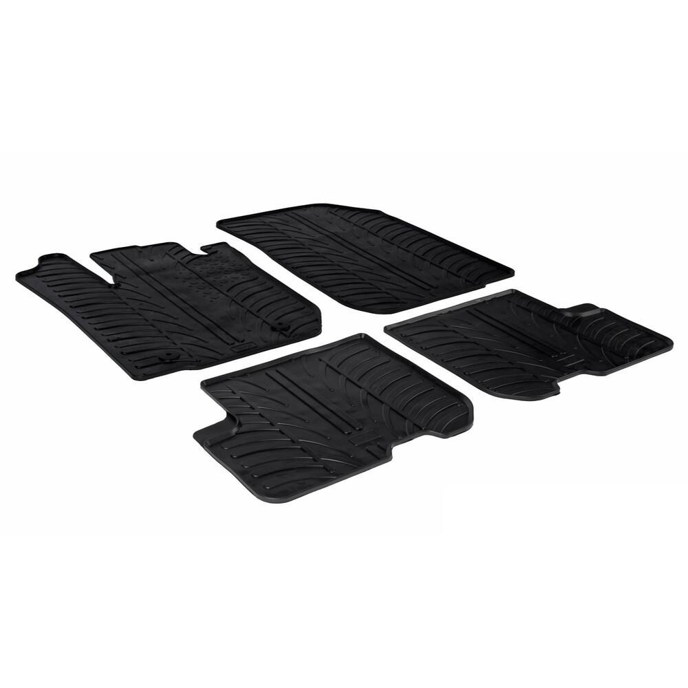 Set tappeti su misura in gomma -  Dacia Logan MCV 5p (10/13>) -  Dacia Sandero (01/13>) -  Dacia Sandero Stepway (01/13>)