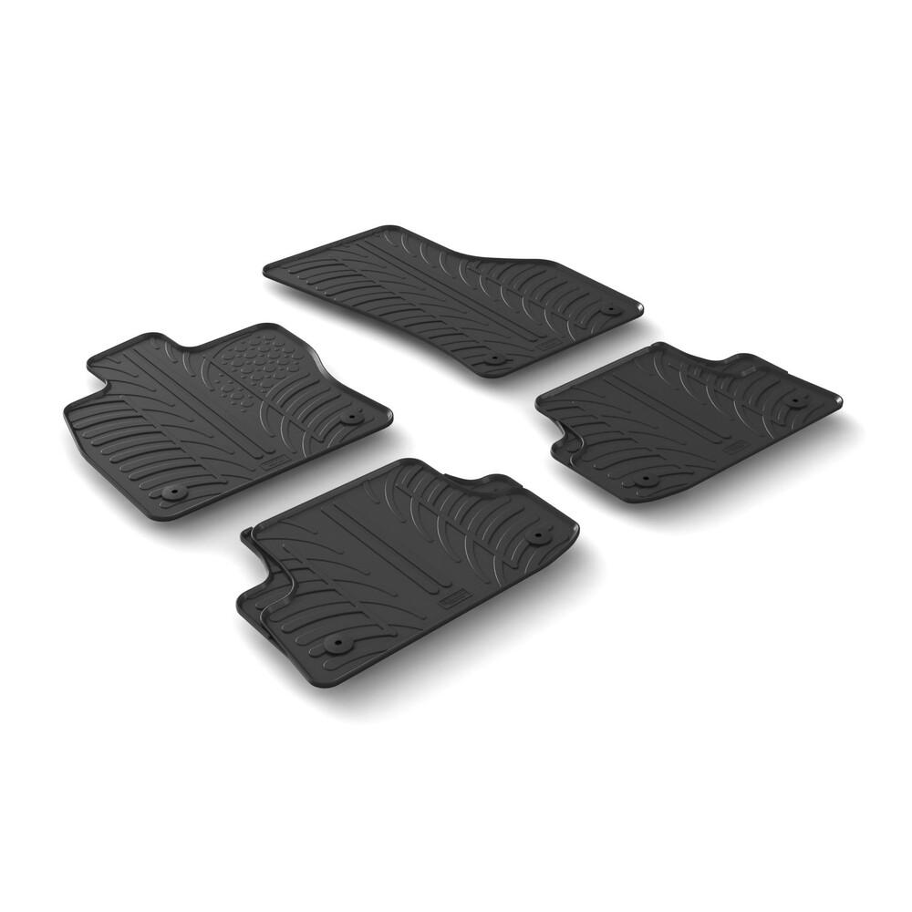 Set tappeti su misura in gomma -  Audi A3 3p (09/12>) -  Audi A3 Cabriolet (03/14>) -  Audi A3 Sedan 4p (09/13>)