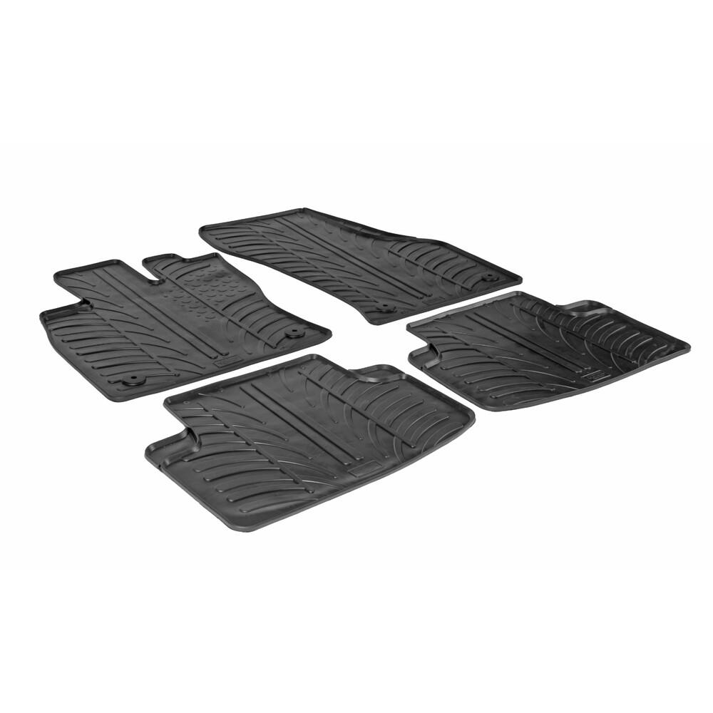 Set tappeti su misura in gomma -  Audi A3 Sportback 5p (11/12>) -  Volkswagen Golf VII Sportsvan (05/14>)