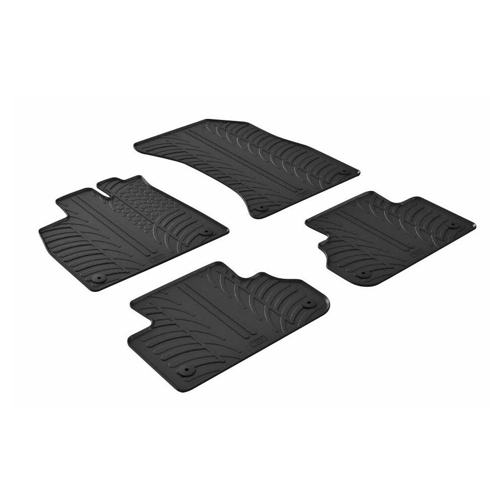 Set tappeti su misura in gomma -  Audi Q5 (03/17>)