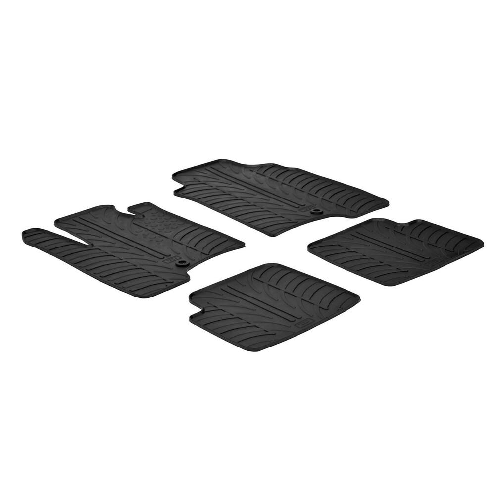 Set tappeti su misura in gomma -  Fiat Panda (02/12>) -  Fiat Panda Cross (10/14>)