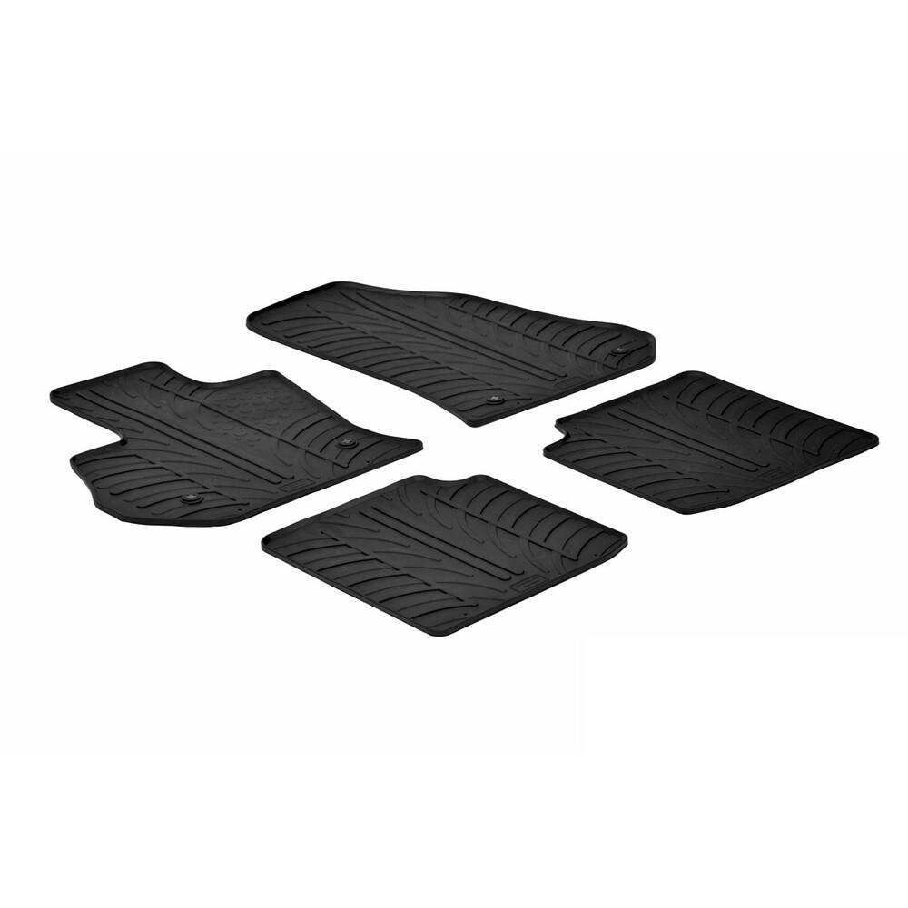 Set tappeti su misura in gomma -  Fiat 500L (09/12>)