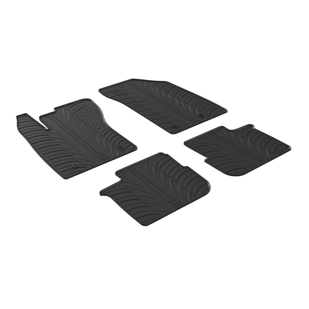 Set tappeti su misura in gomma -  Fiat Tipo 5p (05/16>) -  Fiat Tipo sw (09/16>)