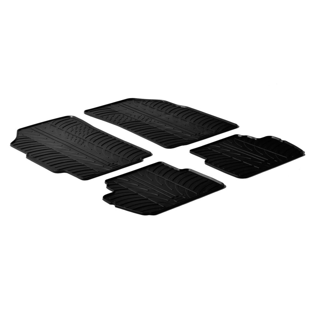 Set tappeti su misura in gomma -  Chevrolet Spark (02/10>09/15)
