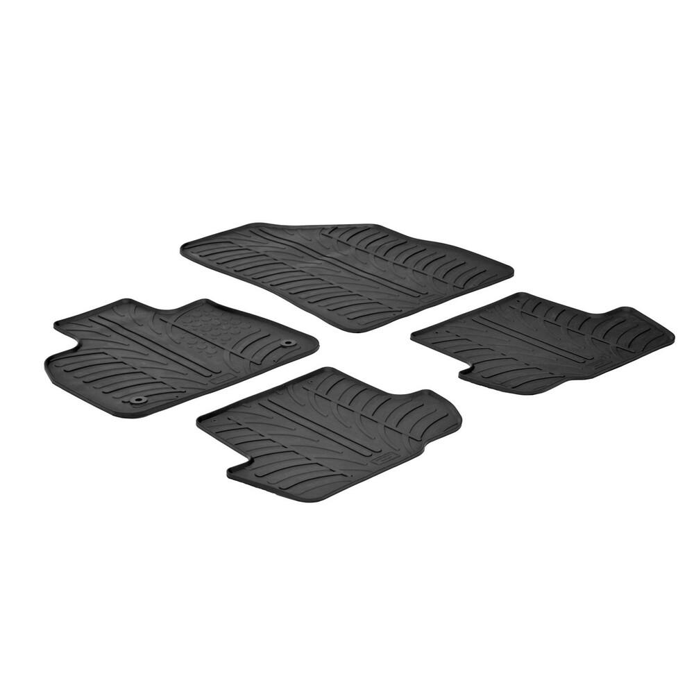 Set tappeti su misura in gomma -  Citroen DS5 (12/11>)