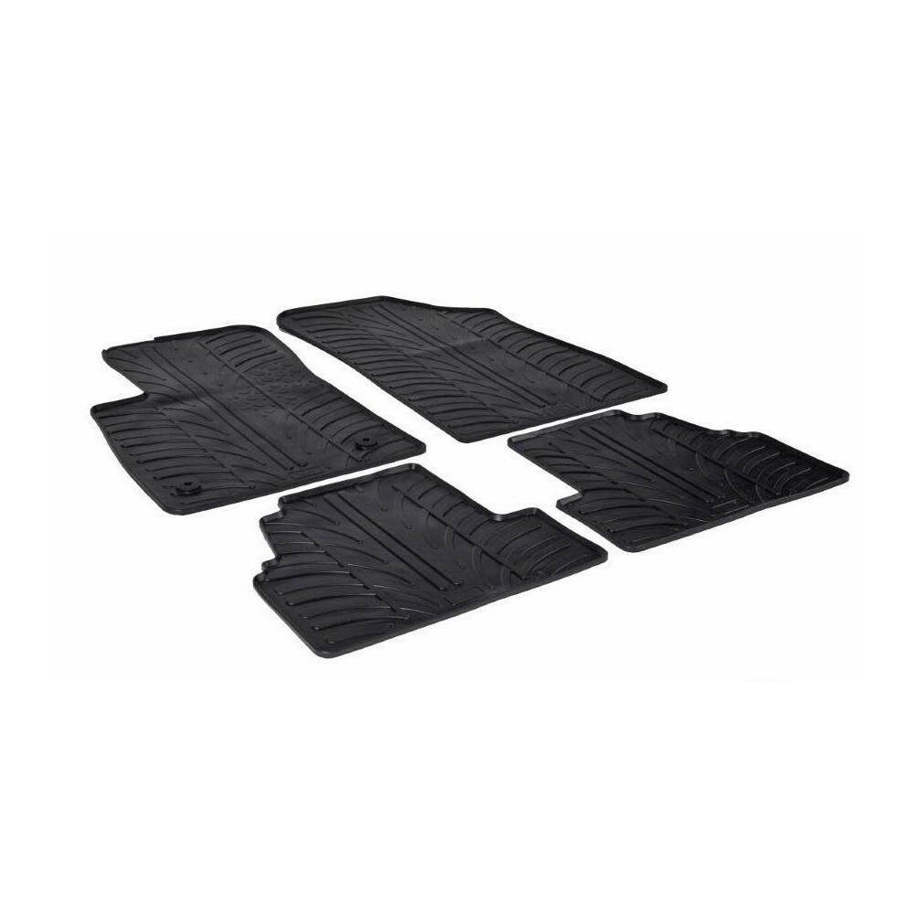 Set tappeti su misura in gomma -  Chevrolet Trax (03/13>09/15) -  Opel Mokka (11/12>03/16) -  Opel Mokka X (04/16>)