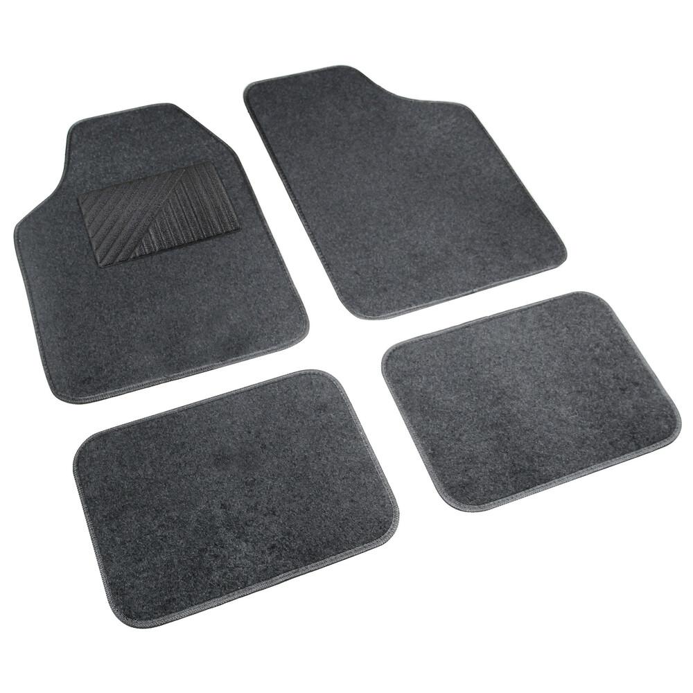 Cosmo, serie tappeti in moquette universali, 4 pz - Antracite