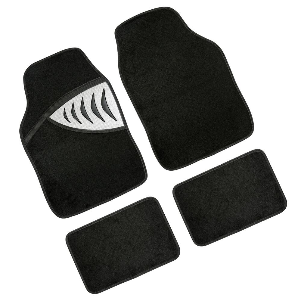 Exus, serie tappeti universali in moquette 4 pezzi