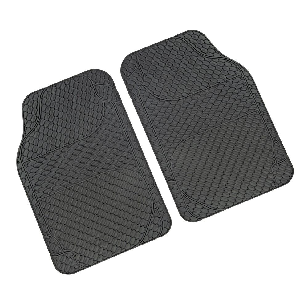 Drena 2, coppia tappeti anteriori universali - Grigio