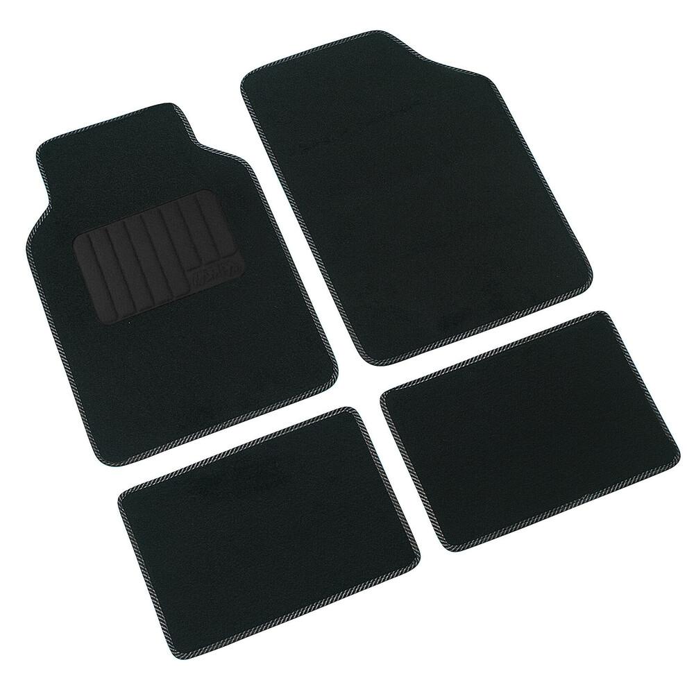Supra, serie tappeti 4 pezzi - C - Nero