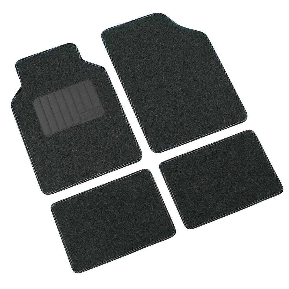 Supra, serie tappeti 4 pezzi - C - Antracite